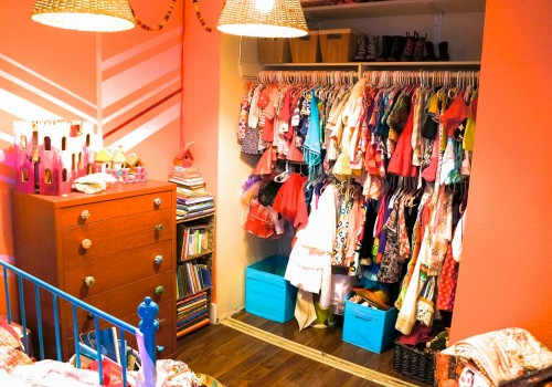Combining Kids' Closets