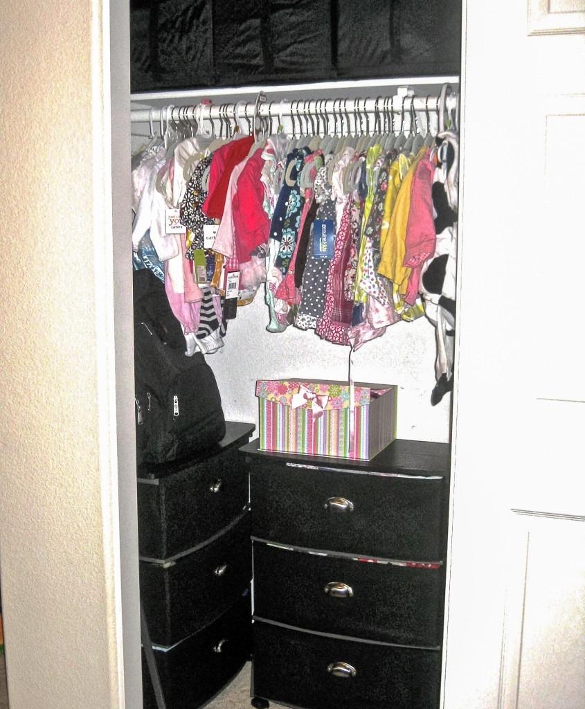 Organizing Kids' Closets