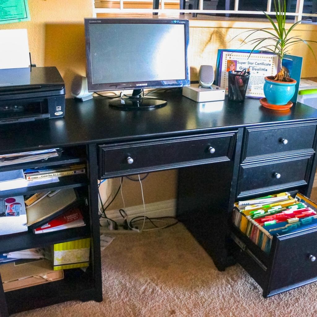 Workspace Reorganized