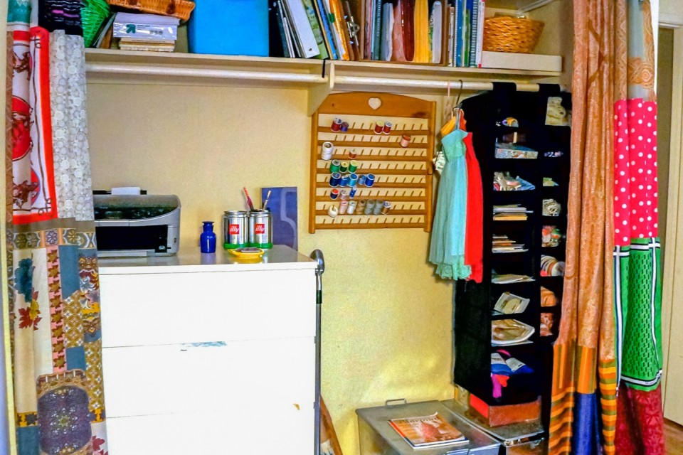 After: Creative Craft Closet